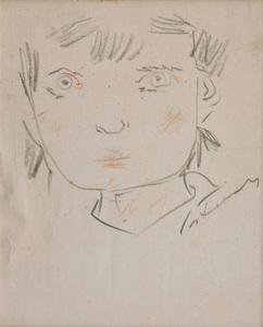 Cabeça feminina - Cândido Portinari