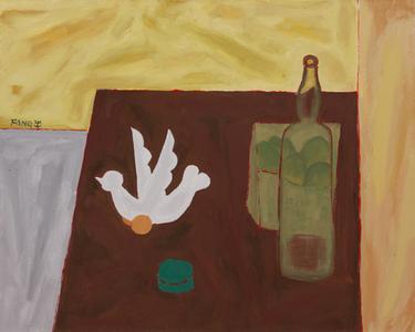 Objetos e garrafa - Chen Kong Fang