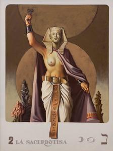 Série Tarot - La sacerdotisa - Vito Campanella