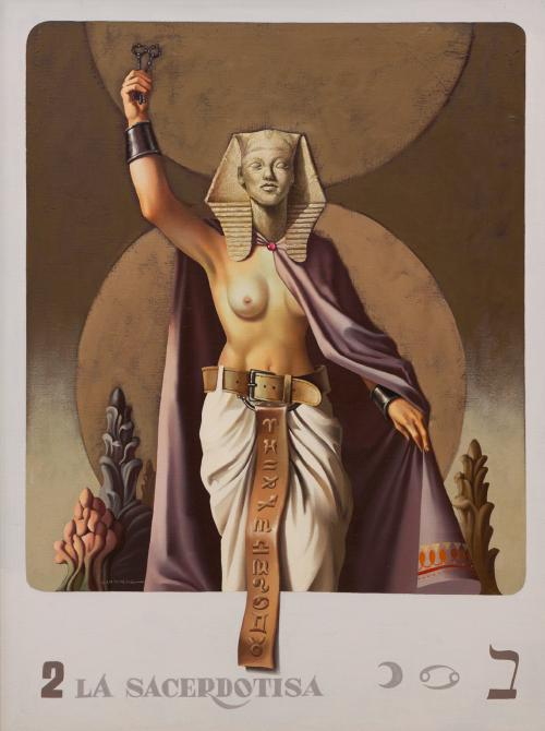 Serie-tarot-la-sacerdotisa-vito-campanella