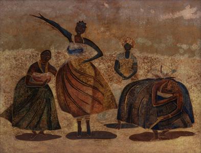 Filhas de Santo - Carybé (Hector Julio Páride Bernabó)