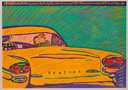 Pontiac - Série bano de trás - 29/50 - Rubens Gerchman