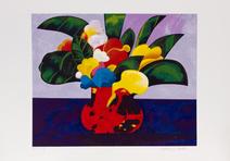 Vaso com flores - 102/120 - Aldemir Martins