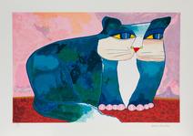 Gato ciano - 89/100 - Aldemir Martins
