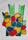 Flores e folhagens - 51/100 - Aldemir Martins