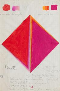 Losango vermelho - Hercules Barsotti