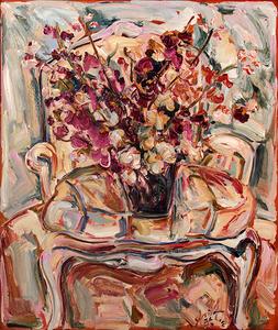 Cadeira com vaso - Sou Kit Gom