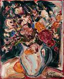 Jarra com flores - Sou Kit Gom