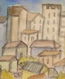 Vista prédios e casas - Alice Brill