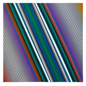 Dynamique Chromatique nº1160 - Dario Perez-Flores