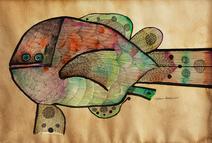 Peixe - Aldemir Martins