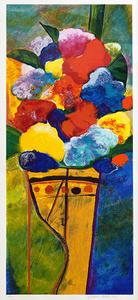 Vaso com flores 60/100 - Aldemir Martins