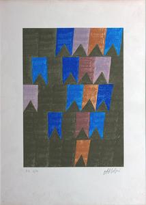 Bandeirinhas P.A. 2/10 - Alfredo Volpi