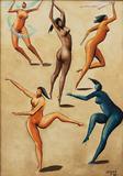 Mulheres - Carybé (Hector Julio Páride Bernabó)