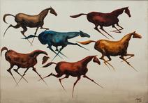 Cavalos - Carybé (Hector Julio Páride Bernabó)