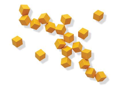 Cubos amarelos - Cássio Lázaro