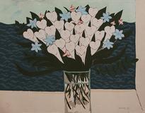 Vaso com flores 58/180 - Chen Kong Fang