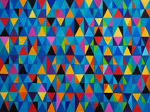 Triângulos e losangos - Marysia Portinari