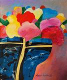 Vaso de flores - Aldemir Martins