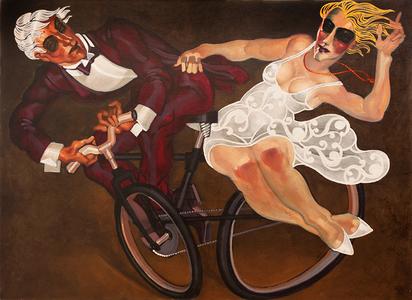 Rodeio à bicicleta - Juarez Machado