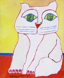 Gato Branco - Aldemir Martins