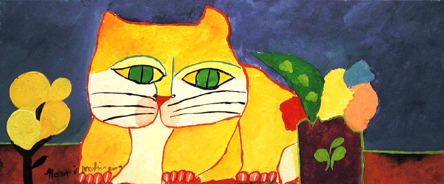 Gato-amarelo-aldemir-martins