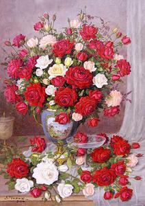 Vaso Com Rosas, Calice e Taça ost - Shokichi Takaki