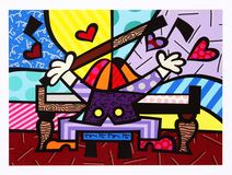 Piano Bar - HC 23/35 - Romero Britto