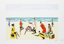 Capoeira na Praia  - Carybé (Hector Julio Páride Bernabó)