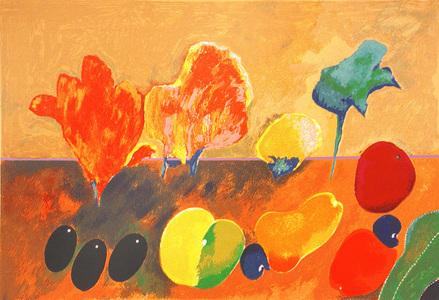Frutas e Flores - Aldemir Martins