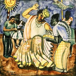 Osirarte - Dança - Alfredo Volpi