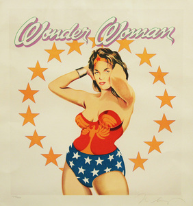 Wonder Woman - Mel Ramos
