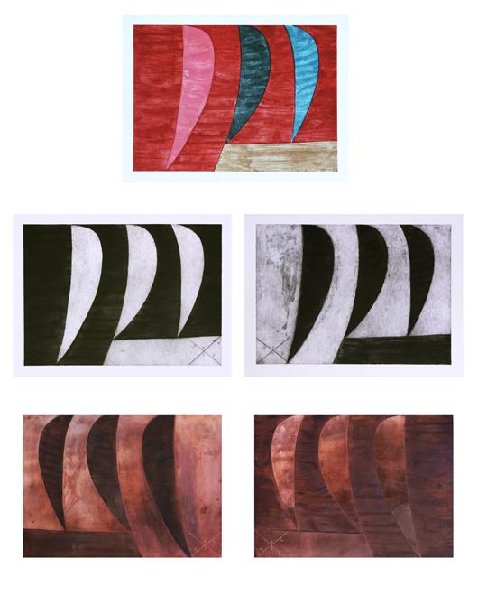 Matrizes-originais-em-cobre-e-gravuras-em-metal-alfredo-volpi