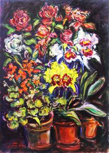 Vasos com flores - Sergio Telles