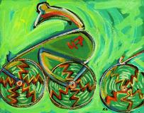 Ciclista - Rubens Gerchman