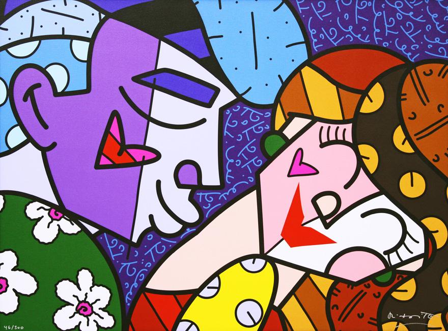 Beijo-romero-britto