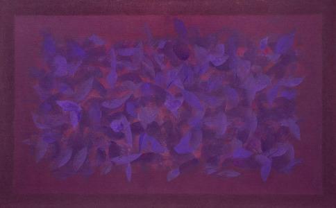 Pintura da Série Campos de Cor - Amelia Toledo