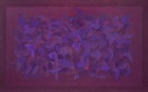 Pintura da Série Campo de Cor - Amelia Toledo