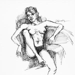 Nu Feminino - João Câmara