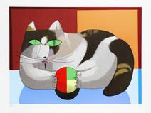 O Gato e a Bola - Inos Corradin