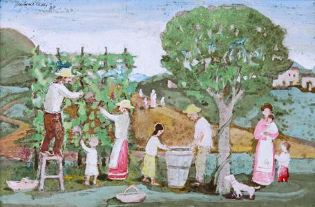 Colheita de Uva - Fulvio Pennacchi