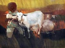 Crianças Com Carneiros - Enrico Bianco
