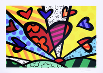 A New Day II - Romero Britto