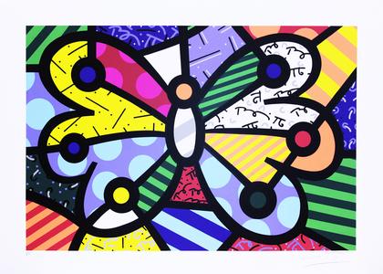 Butterfly II - Romero Britto