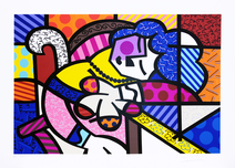 Penelope Of Modern Day II - Romero Britto