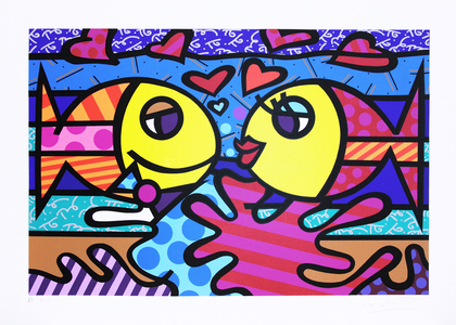 Deeply In Love II - Romero Britto