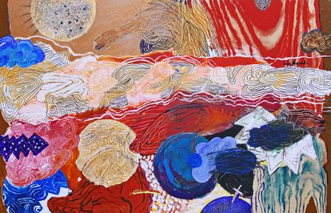 A Pintura, os Círculos e os Pontos - Luiz Aquila