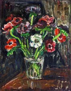 Vaso Com Flores - Tadashi Kaminagai
