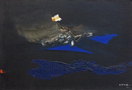 Composição em Azul - Manabu Mabe