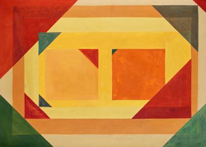 Composição Geométrica II - Hermelindo Fiaminghi